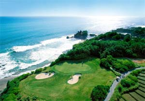 nirwana bali golf club tanah lot