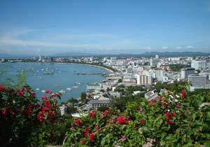 kota pattaya di thailand