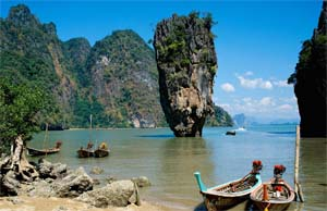 teluk phang nga phuket thailand