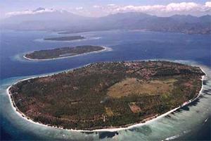 Gili Trawangan island at lombok