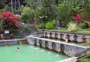 Banjar Hot Spring at Buleleng Regency