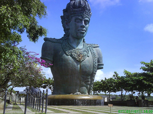 Garuda Wisnu Kencana, an Unfinished Giant Statue