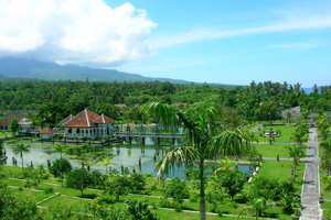 Taman Ujung Karangasem, the Combination of 3 Cultural Elements