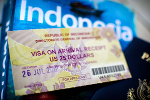 visa to indonesia