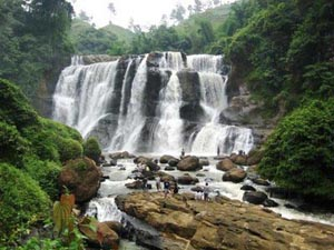 curug malela waterfall west java