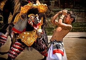 barong bangkal in bali