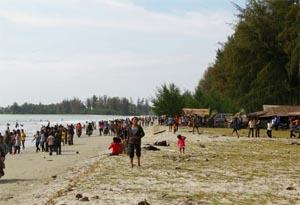 kahona beach central tapanuli medan