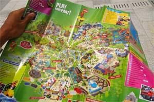legoland map malaysia