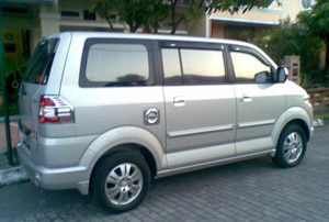 Rent Suzuki APV with Driver