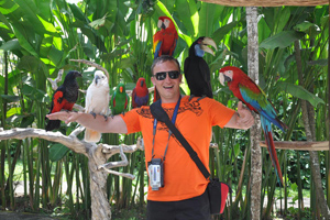 Interact with Birds and Reptiles in Bali Bird Park