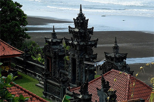 Rambut Siwi Holy Temple with Captivating Panorama