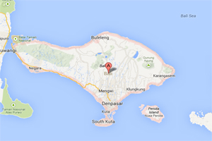 bali island map