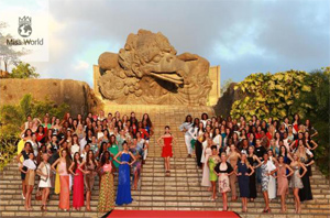 miss world 2013 at garuda wisnu kencana
