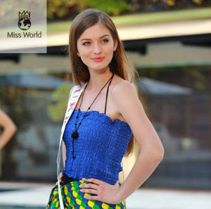 miss world 2013 ukraine anna zayachkivska